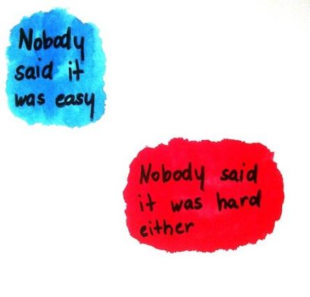 easy hard said