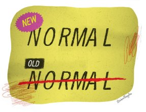 new normal old normal