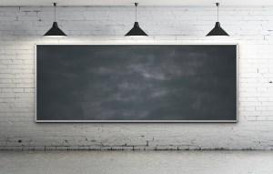 Blackboard In Room