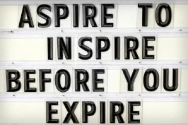 teacher aspire to inspire