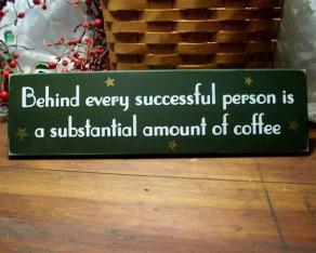 coffee and success