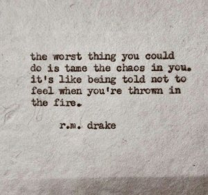 tame the chaos in you