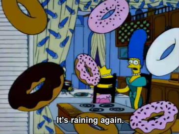 donuts raining