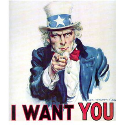 recruit i want you