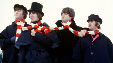 beatles Help scarves