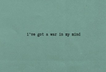 war in my mind
