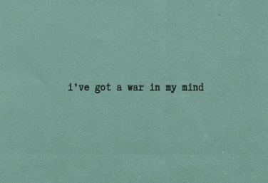 war in my mind