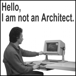 not an architect structuralist