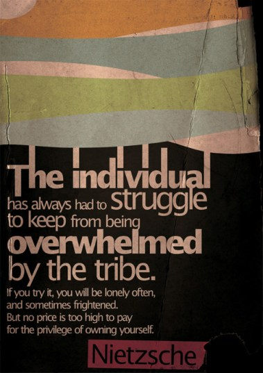 tribe individual influence overwhelm