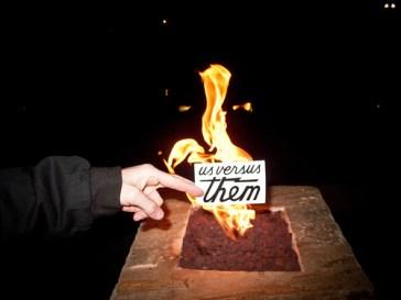 us versus them flame