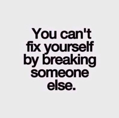 fixing america break someone else