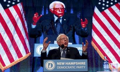 bernie sanders speaking politics revolution