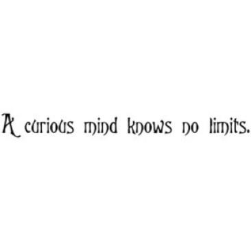 curiosity mind