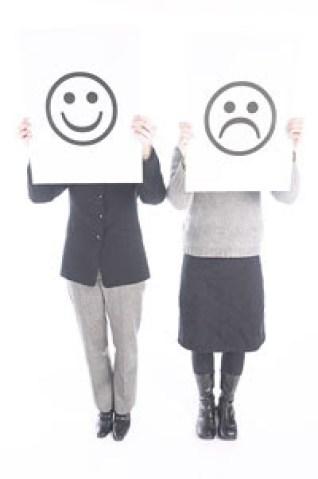 negative positive employees