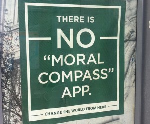 Moral compass app no rules