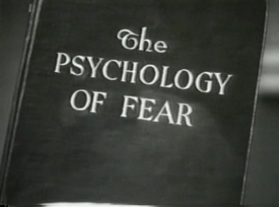psychology of fear book