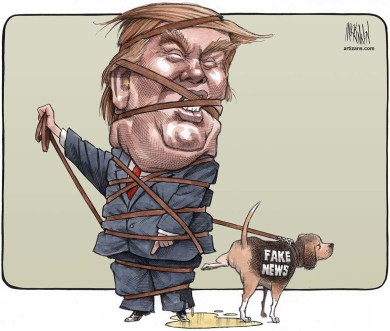 trump fake news canada