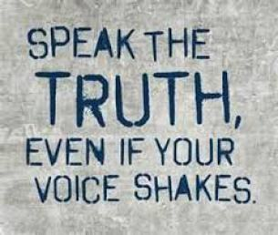 speak the truth i will be defined stand up
