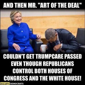 trump art of the deal fail healthcare