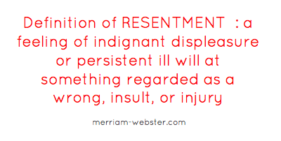 resentment definition