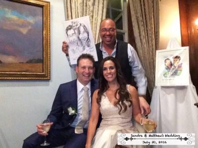 Matt and Sandra Wedding image