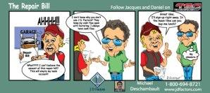 Advertisement-comic style