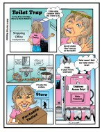 Dirty-Toilet Cartoon
