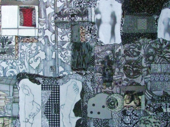 Sylvia Elliott, Mixed Media Collage