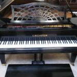 C. Bechstein C Front View Used Piano For Sale