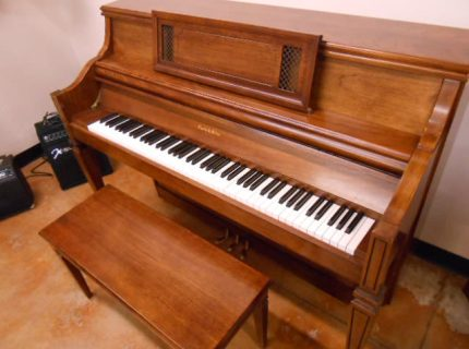 Charles Walter 1520 Console Piano