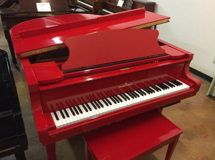 Young Chang Custom Red Piano