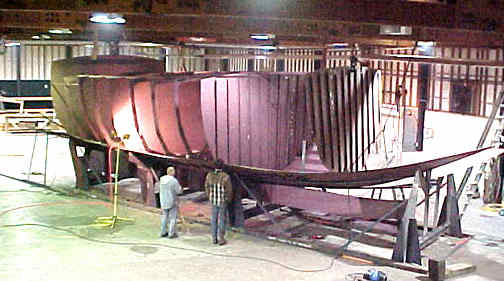 Spray 52 STEEL KITS Boat Plans Boat Building Boatbuilding Steel Boat Kits Boat Kits
