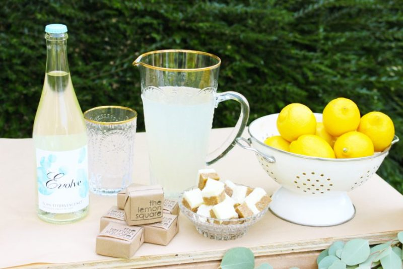 A Grown Up Twist On A Childhood Classic- Lemonade Mimosa 14