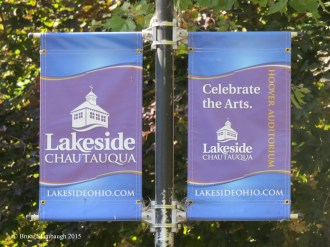 Lakeside banners. © Bruce Stambaugh 2015