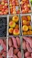 assorted fruit, produce auction