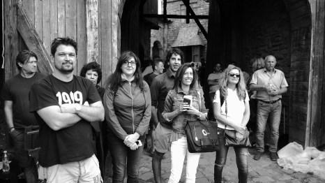 Xoan, Sole, Jorge, Cristina and Nines