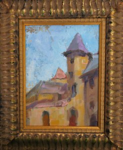2016-45-art-landscapes-stebner-Sancerre Tower-framed
