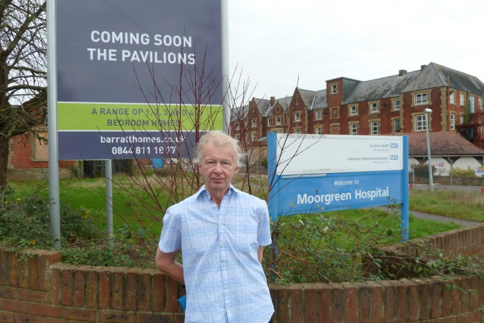 Planning permission has been granted for 121 houses on the Moorgreen Hospital site