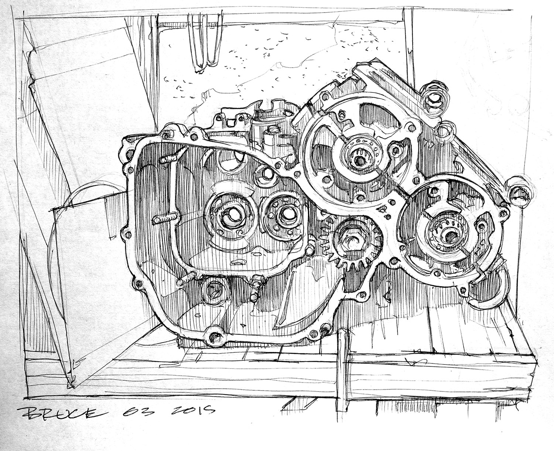 Half An Engine
