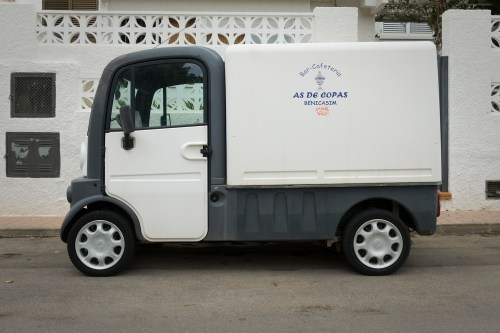 As De Copas Delivery Truck