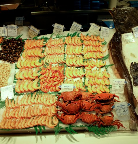 Fish at the Mercado Central in Valencia