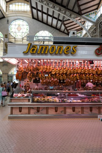More ham at the Mercado Central in Valencia