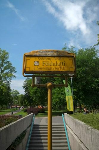 Line 1 Entrance At Szechenyl Park