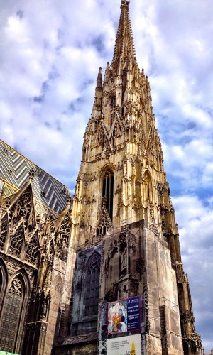 Stephansdom Photo by Wendi