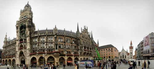The Rathaus at Marienplatz