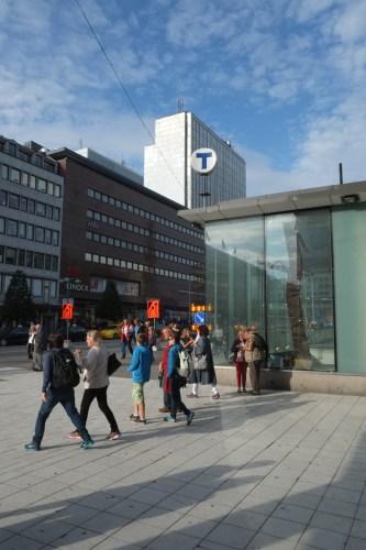 Outside T-Centralen