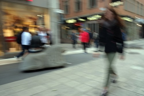 Shopping on Drottninggatan