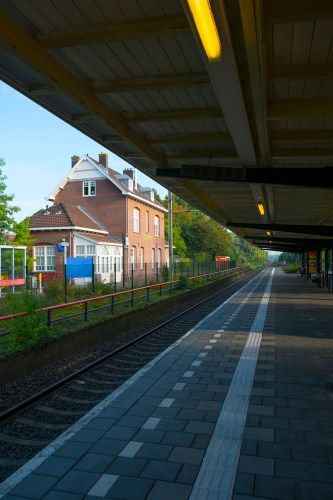 The Bloemendaal Train Station