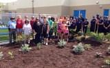 Our New Memorial Garden!