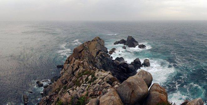 Punta de Estaca de Bares. Todo lo al norte que se puede caminar en nuestra pobre península.